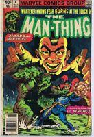 Man Thing #4 ORIGINAL Vintage 1980 Marvel Comics Dr Strange
