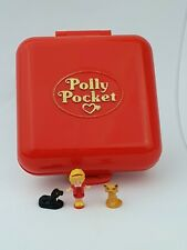 Vintage Polly Pocket  Polly's Town House Red almost complete 1989 By Bluebird