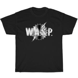 New T-Shirt WASP Rock Band Legend Logo Unisex T Shirt WASP Tee Size S-5XL
