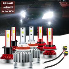 For Kia Optima 2011 2012 2013 6000K LED Headlights High Low Fog Light Bulb Lamp