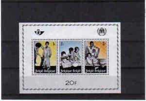 BELGIUM 1967 refugees M/S  mnh** BLOK 43