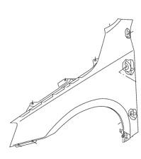 Original Kotfügel Skoda Octavia III links 5E0821105B 5E0821105A  NEU !!