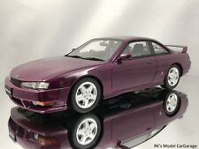 Otto Mobile Ottomobile Nissan Silvia S14A 200 SX Purple Resin Model Car 1:18