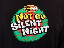 Vtg Xmas Linkin Park T-Shirt (L) Not So Silent Night 2001 Long Slv Terrific Cond