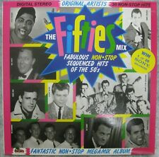 The Fifties Mix- 30 Non-Stop Hits- Aussie LP compilation Dino Music-DIN 056 1985
