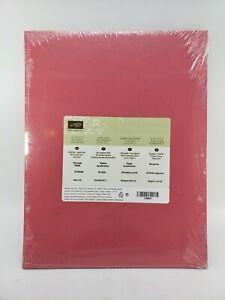 PRIMROSE PETALS Cardstock 8.5 X 11 Stampin Up #126841 NEW
