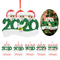 Personalized Family Of Ornament 2020 Christmas XMAS Tree Decoration Holiday Gift