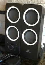 Logitech Z200 Multimedia Stereo Computer Speakers with Headphone & Aux Jack