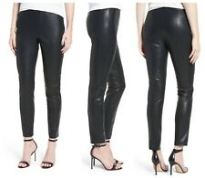 NWT cupcakes and cashmere 'Liliana' Faux Leather Legging Black [SZ Small ] #898