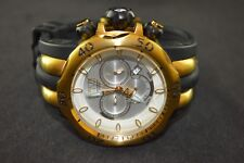 Invicta Venom Chronograph Black Polyurethane Stainless Steel Men's Watch 10834