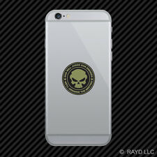 OD Green God Will Judge Our Enemies We'll Arrange The Meeting Cell Sticker v2b