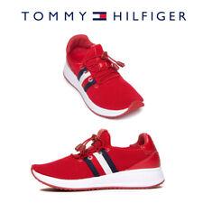 Tommy Hilfiger Mujer Rhena Resbalón en Zapatos Tenis Atléticas con cordón de ajuste