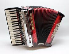 Accordion Zupan Alpe Jewel III 72 M shadowred, wonderfully in sound and look!