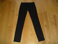 LOVELY!! LADIES NEXT BLACK SKINNY STRETCH FIT JEANS SIZE 12 TALL W32 L36 LONG