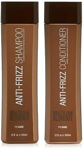Brazilian Blowout Anti-Frizz Acai Shampoo & Conditioner 12 oz Duo Kit Hair Care