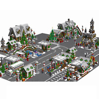 Lego MOC BIGGEST HOLIDAY CHRISTMAS CITY Town Expert - PDF INSTRUCTIONS ONLY!