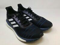 Adidas Men's Black/Blue/White Running Shoes Size 10 US