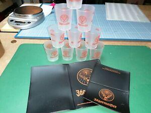 Lot JA01 - 10 Shooter Jagermeister + 1 Case C B Pasport New