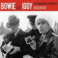 BOWIE VS IGGY - THE BROADCAST ARCHIVE (3CD)