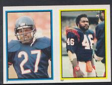 Topps 1984 American Football Sticker No's 157 & 7 - Johnson & Richardson (T501)