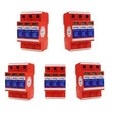 5 Pieces Solar Power Supply Surge Protector Device SPD Lightning Arrester