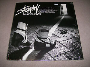 """Steppin' into The 80's - CBS 12"""" Vinyl LP - Netherlands - 1980 - New Wave - NM"""