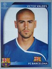 Panini 95 Victor Valdes FC Barcelona UEFA CL 2008/09