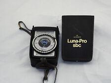 ***Gossen Luna Pro SBC Light Meter  EX Cond.***