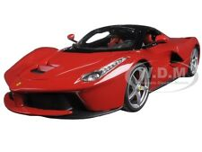 FERRARI LAFERRARI F70 RED SIGNATURE SERIES 1:18 MODEL CAR BBURAGO 16901