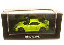 Porsche Cayman GT4 (acid green) 2016