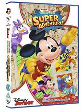 Mickey Mouse Clubhouse: Super Adventure! DVD *NEW & SEALED FAST UK DISPATCH*