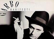 GARBO disco LP 33 g. MADE in ITALY Manifesti STAMPA ITALIANA 1988 + innersleeve