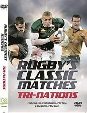 RUGBY CLASSIC MATCHES TRI NATIONS DVD UNION AUSTRALIA NEW ZEALAND SOUTH AFRICA