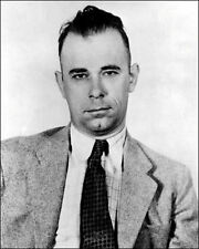 John Dillinger Photo 8X10 - Bank Robber Gangster Wanted  - Buy Any 2 Get 1 FREE