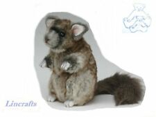 Chinchilla Plush Soft Toy by Hansa. Sold by Lincrafts. 4844  CLEARANCE SALE