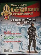 FASCICULE 21 LEGION ETRANGERE PLONGEUR DINOPS DU 1ér REG