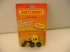 1987 MATCHBOX SUPERFAST MB 29 SHOVEL NOSE TRACTOR NEW ON CARD