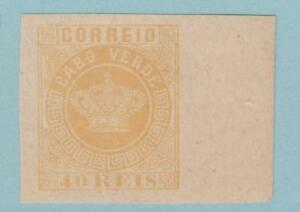CAPE VERDE 13a JUMBO IMPERF NEVER HINGED OG ** NO FAULTS EXTRA FINE !