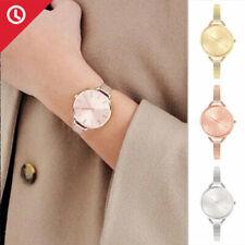 Damenuhr Armbanduhr Uhr Uhren Damen Rosegold Silber Gold Milanaise Mesh Armband