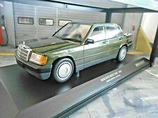 Mercedes Benz 190 190e w201 Limousine verde Green m 1982 Minichamps DIECAST 1:18