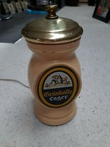 Grunhalle Lager - Vintage Pump Head - Advertising Item - Good Condition