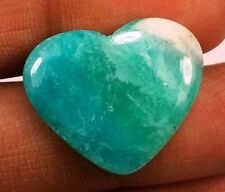 Heart Shaped 10.32 CT Amazonite 100% Natural GIE CERTIFIED A++ Quality Gemstone