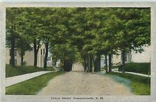 A Tree-Shrouded View Of Grove Street, Somersworth NH