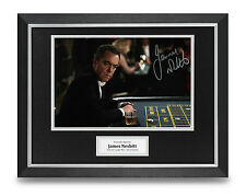 James Nesbitt Signed Photo Framed 16x12 Lucky Man Autograph Memorabilia + COA