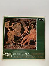 Brahms Fourth Symphony Decca SXL6062 LP Academic Festival Overture