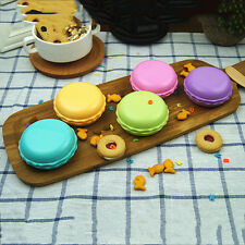 Cute Macaron Travel Contact Lens Case Soak Storage Box Holder Mirror Tweezer