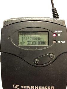 Sennheiser SK100 G3 Band A (518-558 MHz) Bodypack Wireless Transmitter