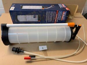 Vakuum Öl- und Flüssigkeitsabsaugung manuell 6.5L von SEALEY (Made in GB)