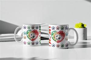 Football Mug Cup Portugal Gift Presend Birthday