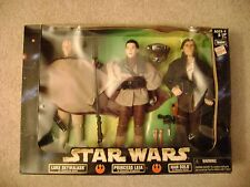 "Star Wars ""Luke, Leia & Han"" 12in. Kenner 1998 / Brand New (never opened)"